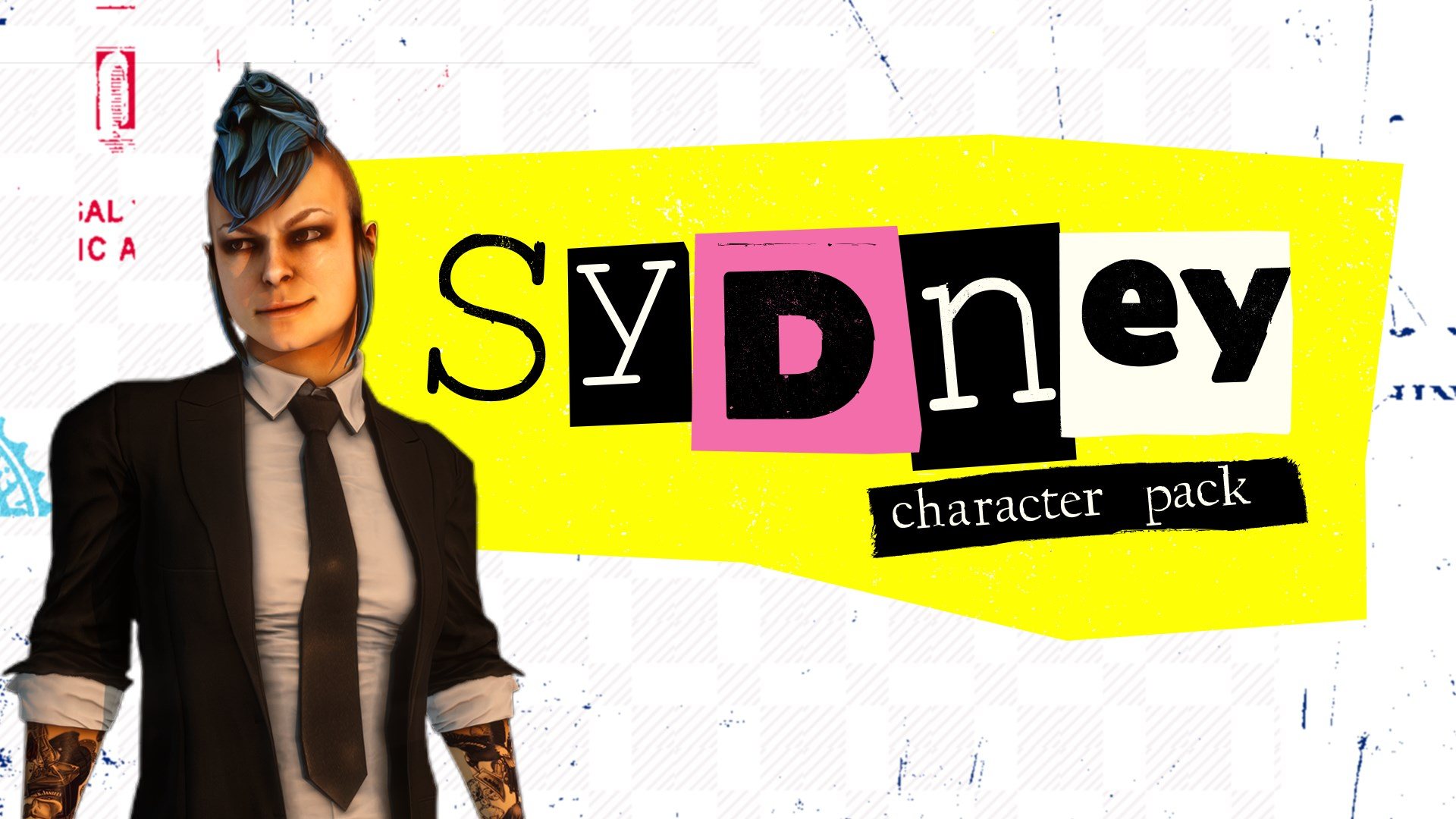 PAYDAY 2: CRIMEWAVE EDITION - Sydney Character Pack
