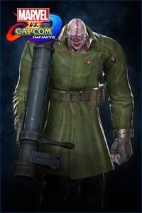 Carátula del juego Marvel vs. Capcom: Infinite - Nemesis Tyrant Costume