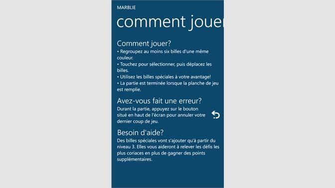 Recevoir Marblie Les Billes Réinventés Microsoft Store Fr Fr