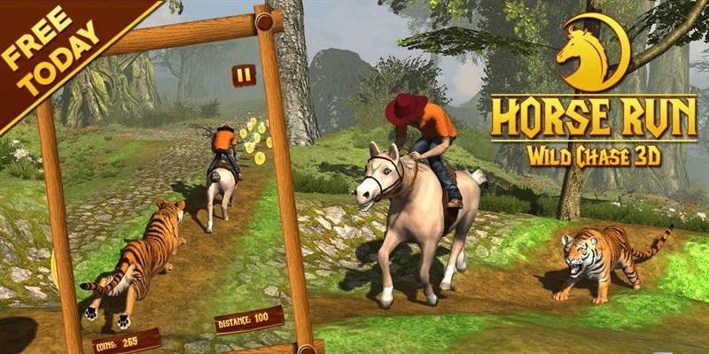 Get Horse Run 3D - Wild Tiger Chase the Racing Pony - Microsoft Store