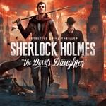 Sherlock Holmes: The Devil's Daughter Logo