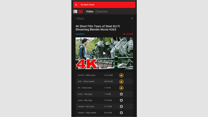 Get Tuber - Youtube Video Downloader and Converter up to 4K