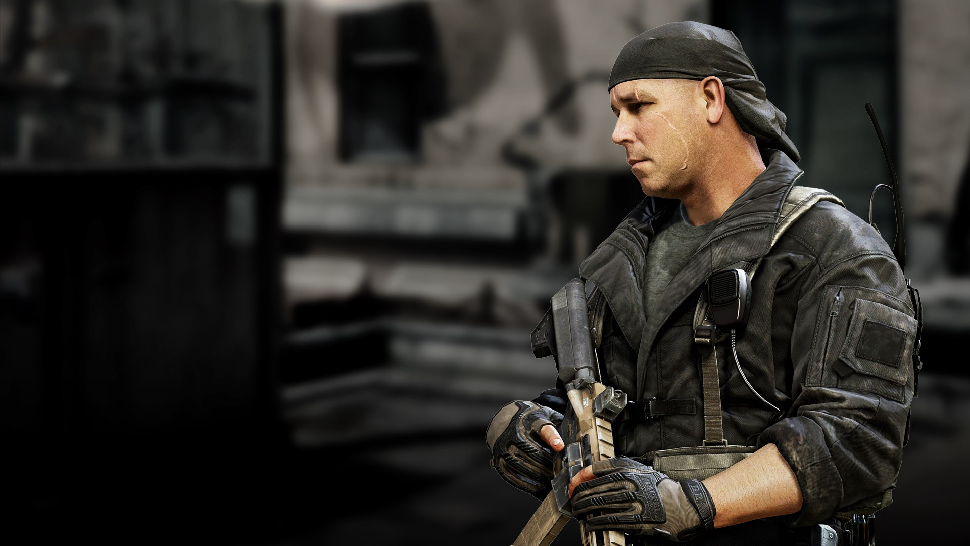 Call of Duty: Ghosts - Personaje especial Rorke