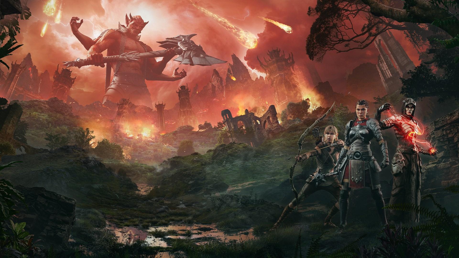 The Elder Scrolls Online: Blackwood CE Upgrade