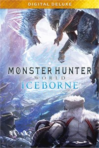 Carátula del juego Monster Hunter World: Iceborne Digital Deluxe