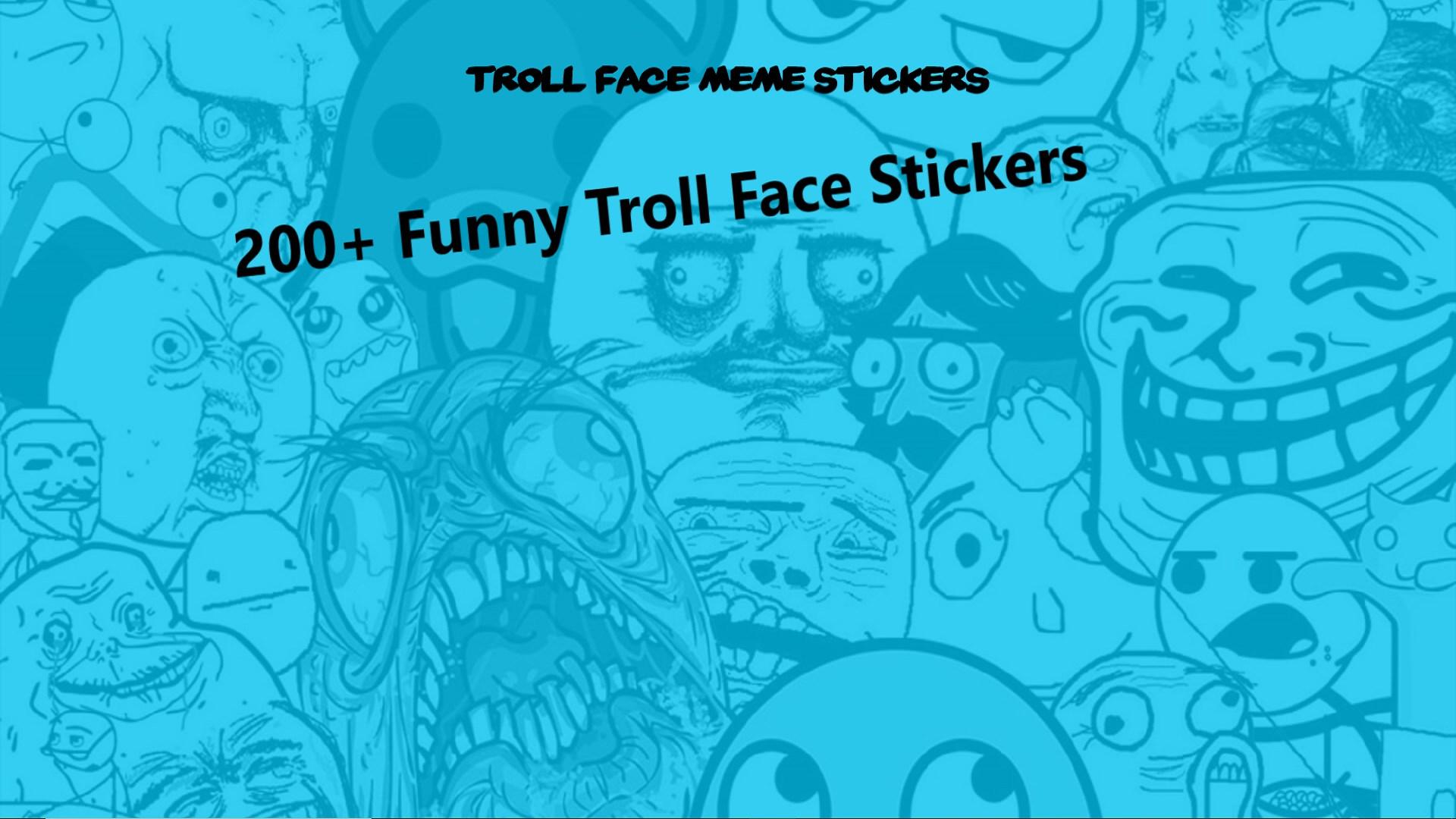 Get troll face meme stickers microsoft store