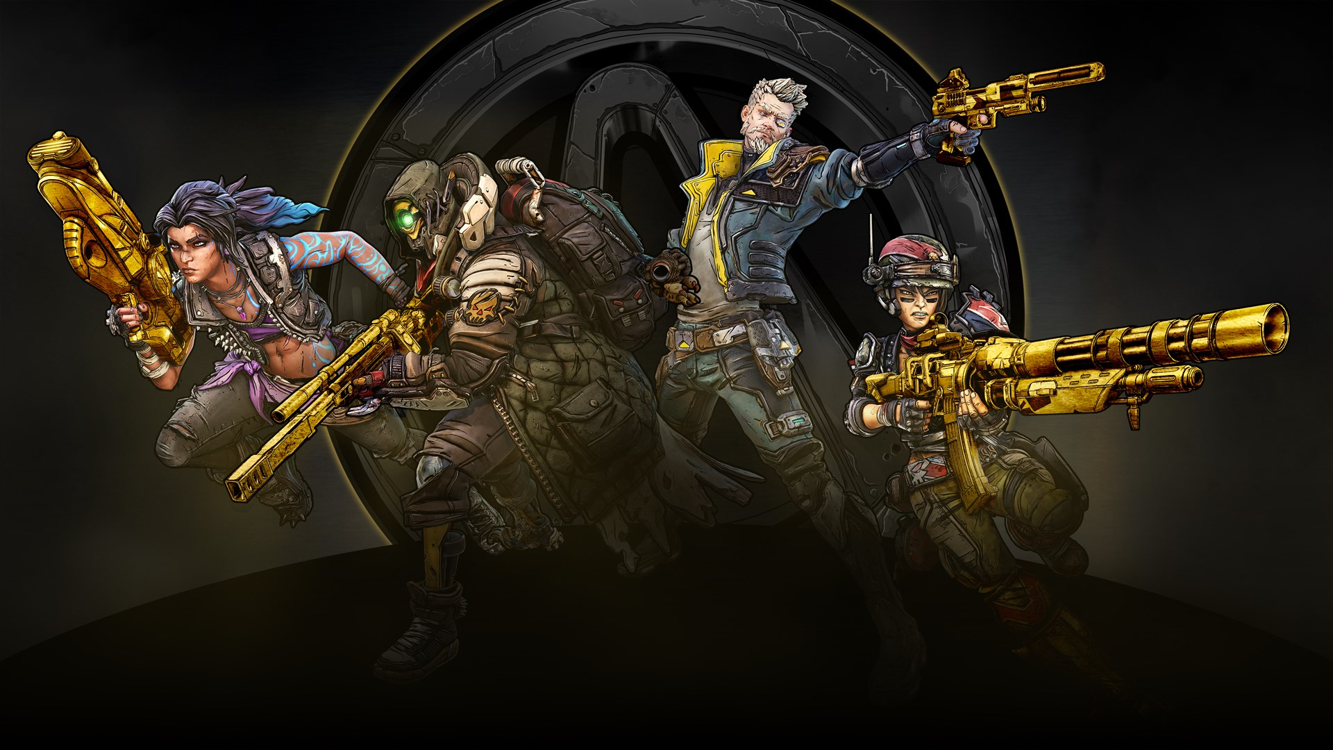 Borderlands 3 Gold Weapon Skins Pack