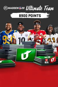 Madden NFL 20: 8900 очков Madden Ultimate Team