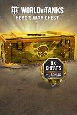 Buy World of Tanks - 6 Hero's War Chests + 1 Bonus