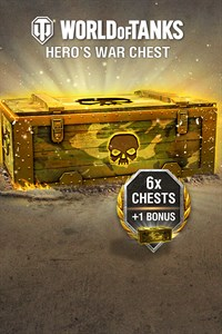 World of Tanks - 6 Hero's War Chests + 1 Bonus!