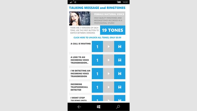 Get Talking Message and Ringtones - Microsoft Store