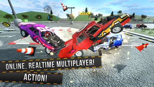 Demolition Derby Multiplayer screenshot 1