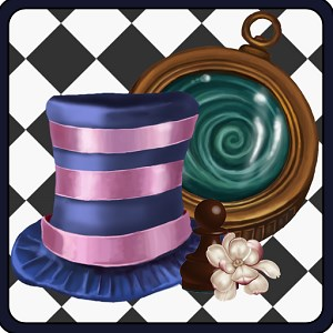 Alice Through the Looking Glass - Hidden Items Games
