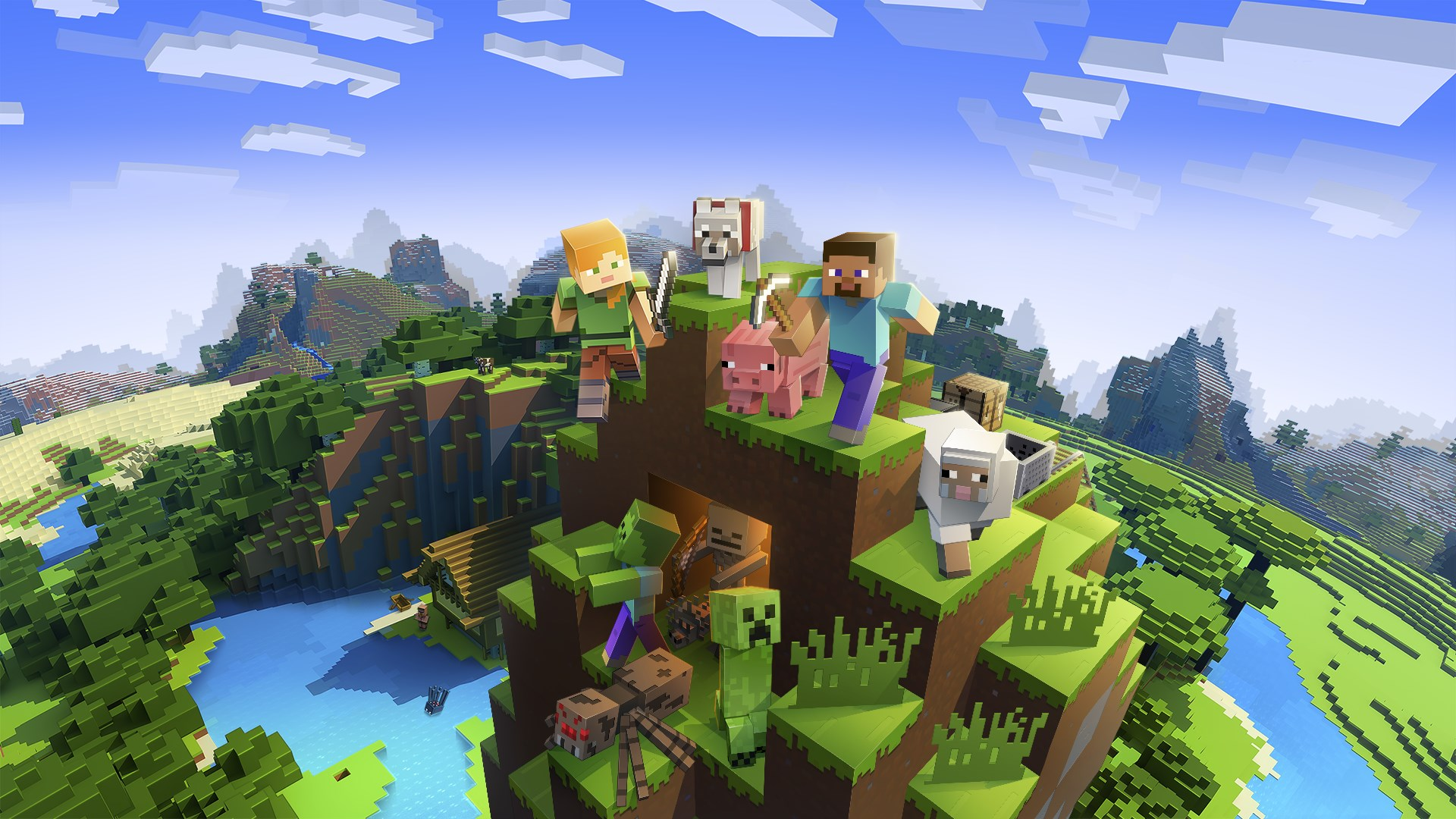 Minecraft For Windows Kaufen Microsoft Store DeDE - Minecraft pc mit pad spielen