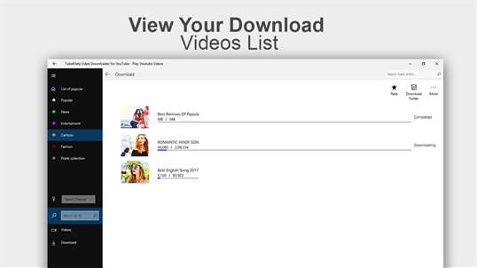 Video & Mp3 Music Downloader for Youtube Videos screenshot 4