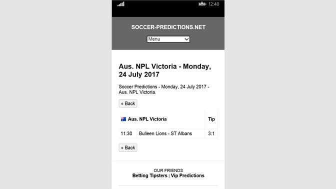 Get Daily Soccer Surebets - Microsoft Store