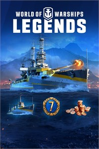 Carátula para el juego World of Warships: Legends – Premium Edition de Xbox 360