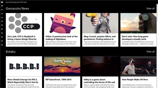 Get Game Development Info Hub - Microsoft Store en-AU