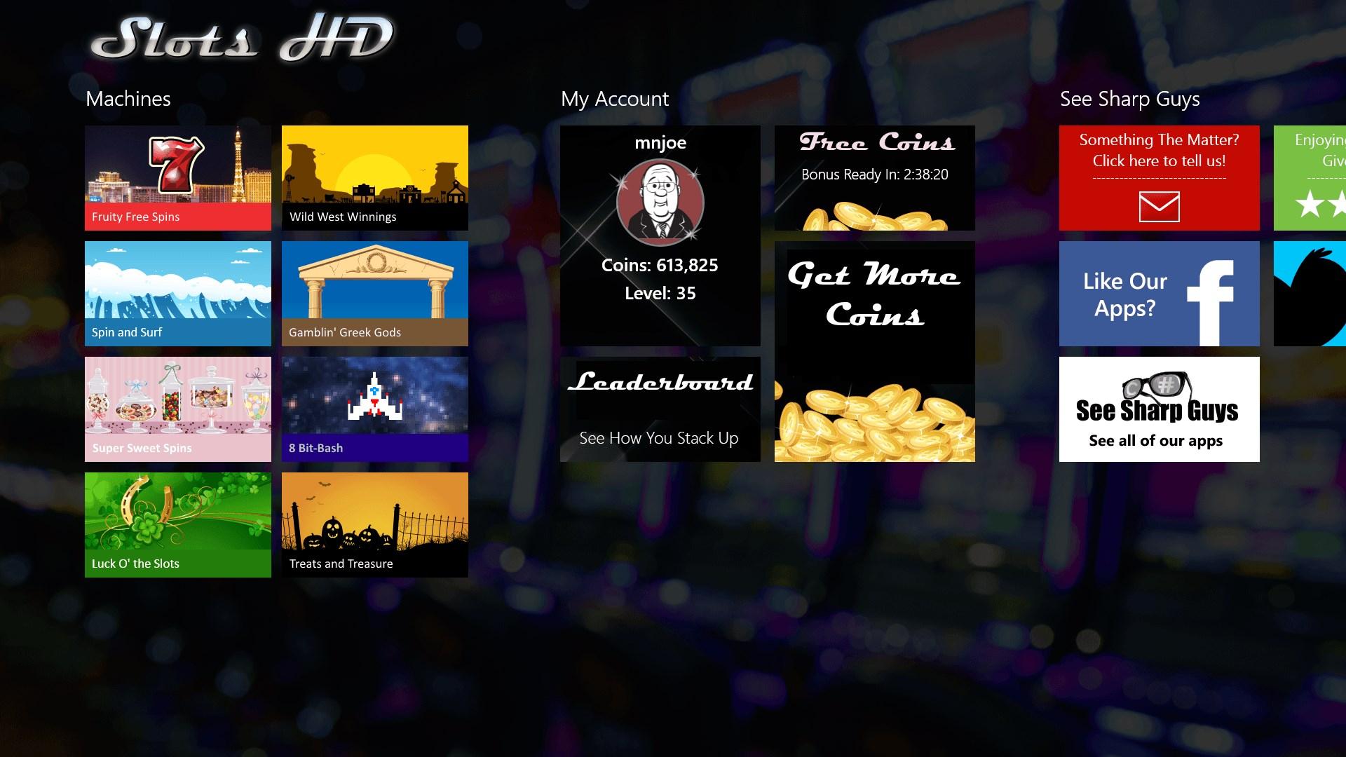 Slots HD