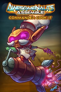 Carátula del juego Commander Cook-It - Awesomenauts Assemble! Skin
