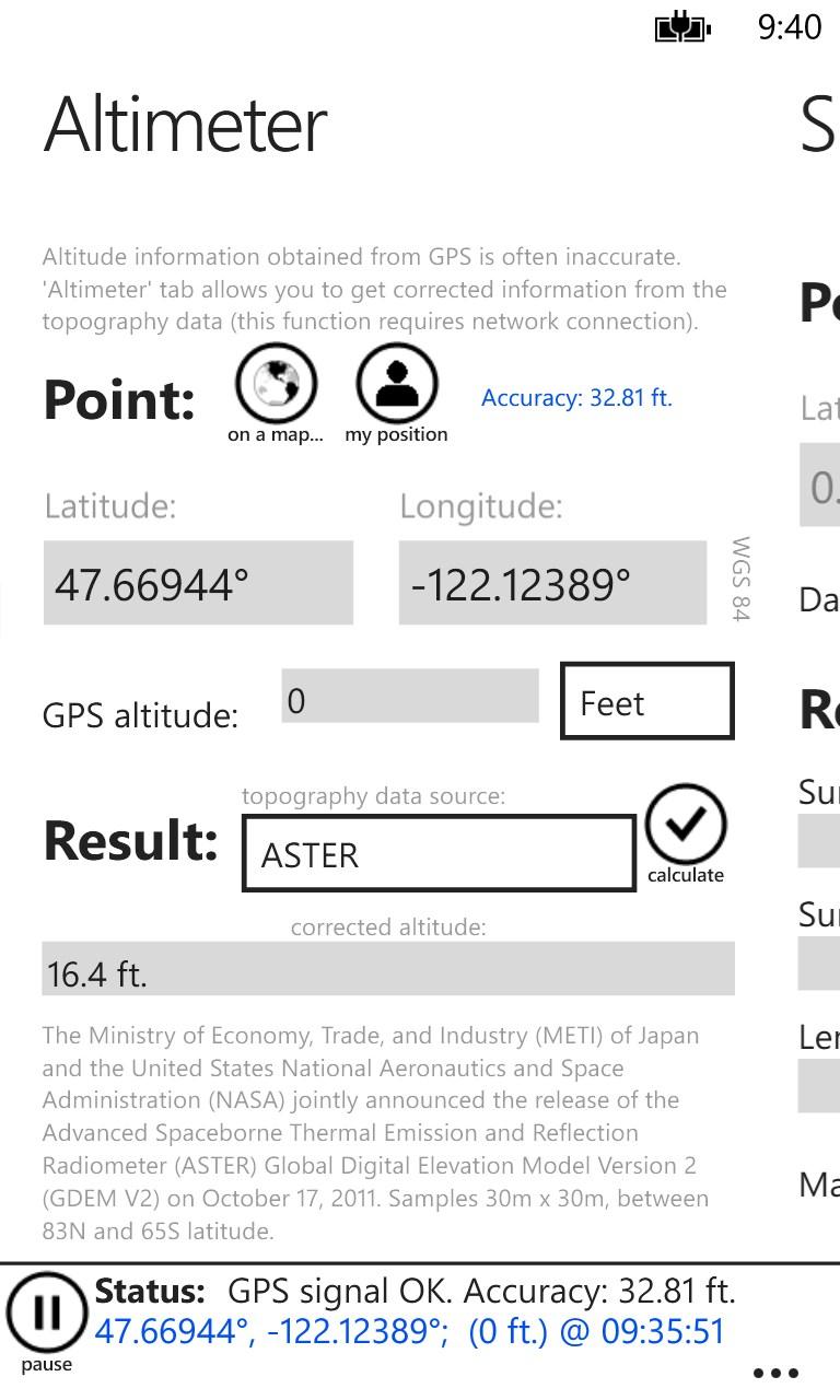GPS Calculator