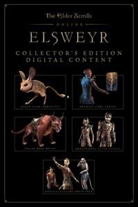The Elder Scrolls Online: Elsweyr Collector's Edition Content