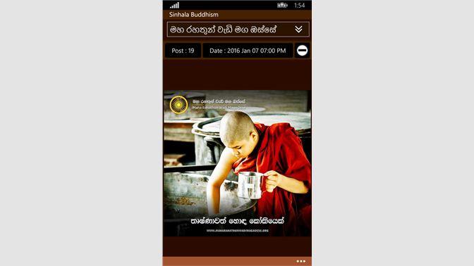 Get Sinhala Buddhism - Microsoft Store