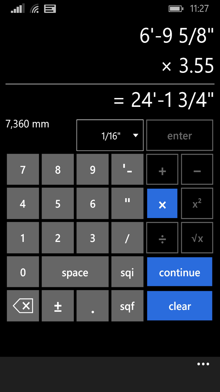 feet and inches calculator for windows 10 pc free download. Black Bedroom Furniture Sets. Home Design Ideas