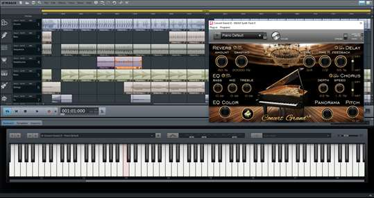 Music Maker Plus Windows Store Edition screenshot 2