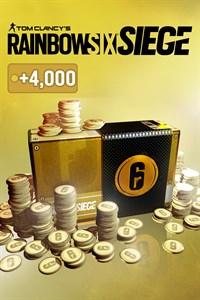 TOM CLANCY'S RAINBOW SIX® SIEGE: 16000 (12000 + 4000 bônus) CRÉDITOS R6