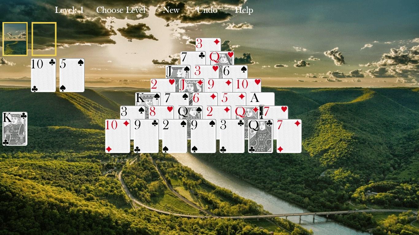 Pyramid Solitaire Adventure