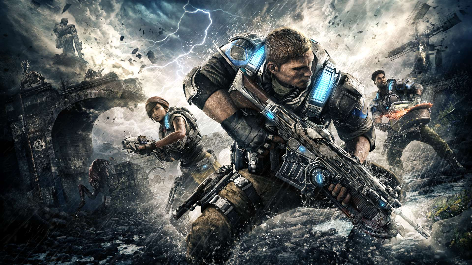 Risultati immagini per Gears of War 4