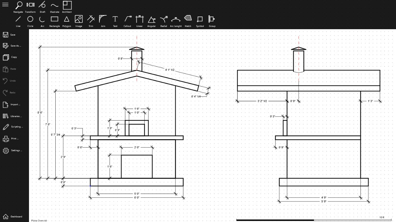 technical drawings amp illustrations for windows 10