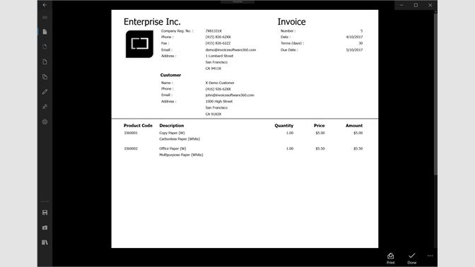 Get Invoice Microsoft Store - Invoice asap for windows