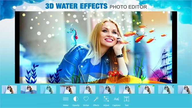 Get 3D Water Effects Photo Editor - Microsoft Store
