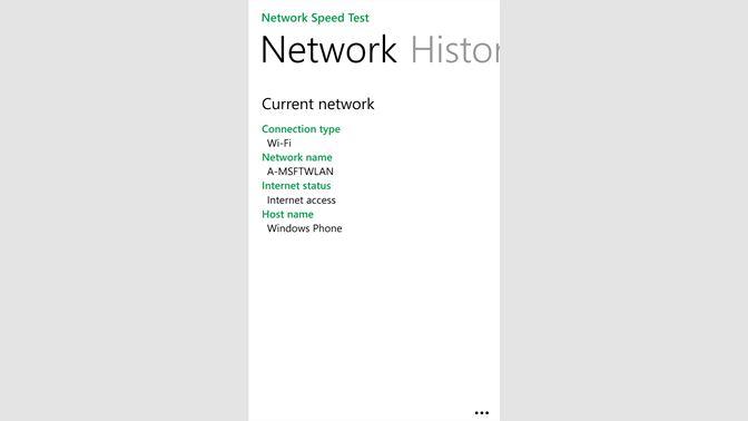 Get Network Speed Test - Microsoft Store