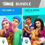 The Sims™ 4 Plus Cats & Dogs Bundle Logo