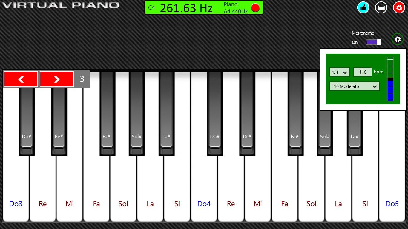 Virtual Piano for Windows 10