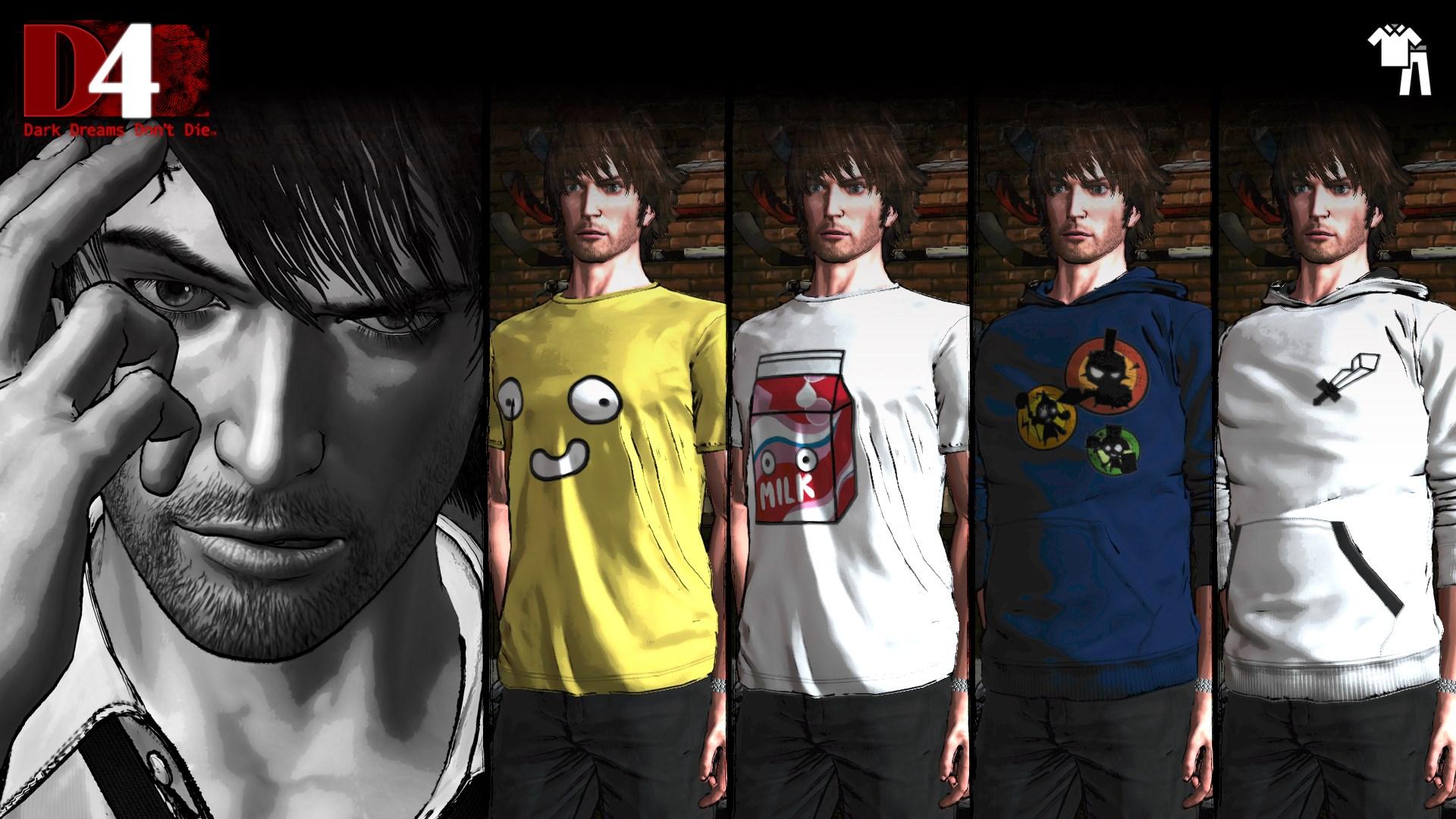 D4: Dark Dreams Don't Die - Happy Wars Clothing Set