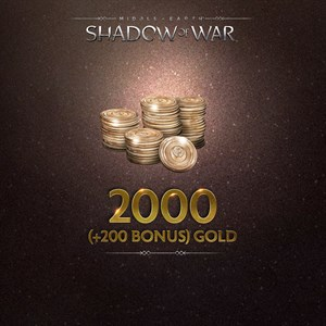 2000 (+200 Bonus) Gold Xbox One
