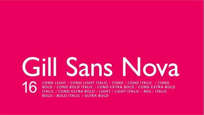 Get Gill Sans Nova - Microsoft Store