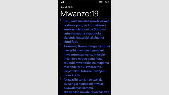 Pata Biblia Takatifu Swahili Bible Microsoft Store Sw Ke