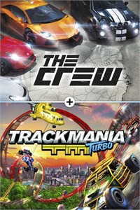 Carátula del juego The Crew and Trackmania Turbo