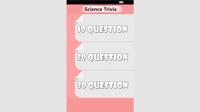 Get Science Trivia - Microsoft Store