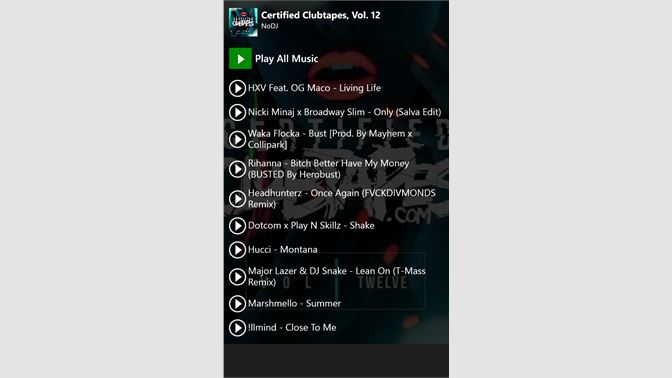 Get Mixtapes Free - Microsoft Store