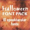 Monotype Halloween Font Pack