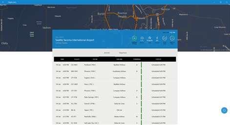 Flights Info Screenshots 2