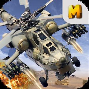 Apache Gunship Heli Battle
