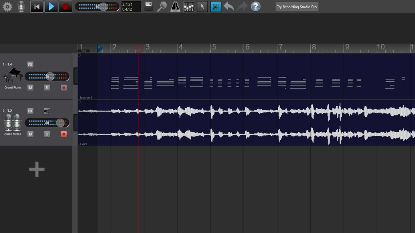Full Recording Studio screenshot