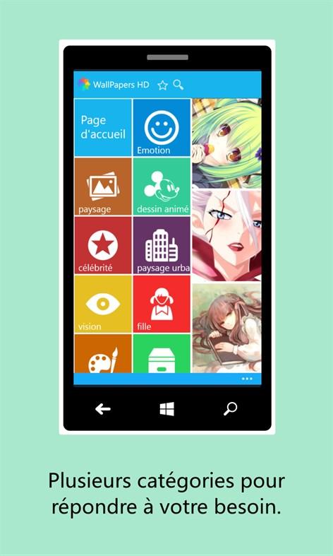 fond d'ecran anime windows phone 8
